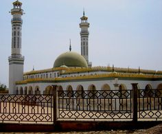 lamido Grand Mosque in N'Gaoundere - Cameroon