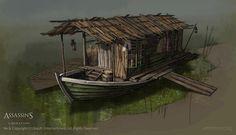 Assassin's Creed III Liberation Environment Concept Art