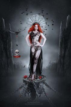 Queen of Darkness by JoeDiamondD.deviantart.com on @DeviantArt____!!!!