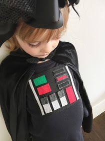 Designs by TiffanyCo: Star Wars Kids Costume Ideas: Girls Darth Vader Costume and Baby Costume Kids Star Wars Costumes, Diy Costumes For Boys, Themed Halloween Costumes, Baby Costumes, Costume Ideas, Kid Halloween, Happy Halloween, Darth Vader Costumes, Carnival