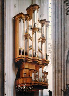Kathedrale -Antwerpen, Transeptorgel Metzler orgel 1993