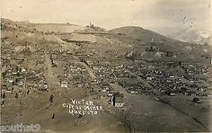 c1910-Victor-Colorado-City-of-Mines-Real-Photo-Postcard-RPPC