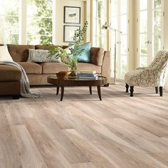 Features: Flooring Type: -Laminate wood planks. Species: -Hickory. Color/Shade: -Light. Edge Type: -Micro-beveled. Country of Manufacture: -United States. Color: -Natural Hickory. Wall Base/Bas