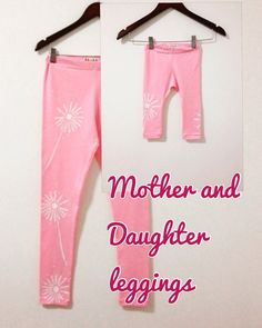 Mommy and Me leggings Mom and Daughter Matching outfits by COOLLeggings