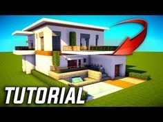 Modernes Minecraft Haus My Best Modern House Minecraft - Minecraft schones haus bauen youtube