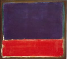 "oil on canvas, 56-1/2 x 65"" (143.5 x 165.1 cm), 1951 (c. 1949-1951), Rothko © 1998 Kate Rothko Prizel and Christopher Rothko / ARS / Photo by: Ellen Page Wilson"