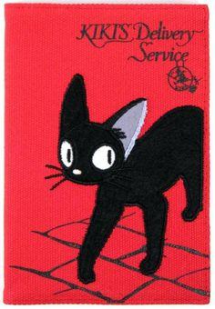 Jiji from Kiki's Delivery Service (Miyazaki) I Love Cats, Crazy Cats, Cool Cats, Totoro, Kiki Cat, Neko, Claude Monet, Kiki Delivery, Here Kitty Kitty