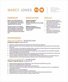 Bring Your Nurse Resume to the Yes Pile Student Nurse Resume, Registered Nurse Resume, Nursing Students, Nursing Resume Template, Resume Template Free, Templates Free, Sample Resume, Kindergarten Jobs, Good Objective For Resume