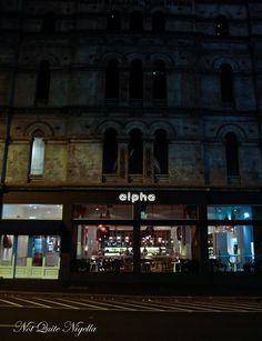 Alpha Restaurant, Sydney