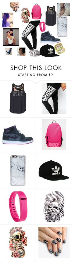 """Handin with The Dolans"" by explorer-14484921021 on Polyvore featuring adidas, NIKE, Dolan, Zero Gravity, adidas Originals, Fitbit, alfa.K and Royce Leather"