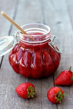 Strawberry Chia Seed Jam