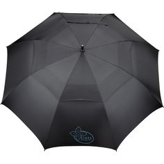 """64"""" Slazenger Caddy Vented Automatic Golf Umbrella - black and navy colors available"""