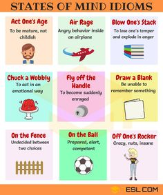 30+ Useful Idioms to Express Feelings and Emotions