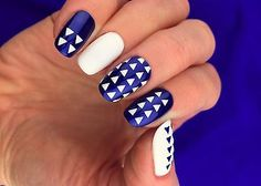 Triangle Nail Art Stencils - incredible nail art vinyls by Unail - EXCLUSIVE DEAL! BUY NOW ONLY $5.0