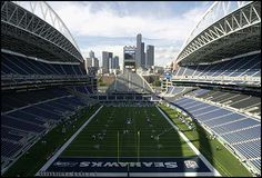 the Seattle Seahawks...home of the 12th man and the loudest stadium in the NFL