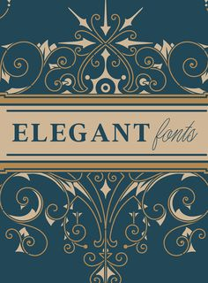 20 Elegant Fonts to Add A Touch of Luxury 20 Classy Fonts, Elegant Fonts, Luxury Font, Best Free Fonts, Cute Fonts, Brand Fonts, Wedding Fonts, Creative Typography, Premium Fonts
