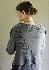 Ravelry: Vashon Island pattern by Carol Sunday - knit top down. Love cable along back