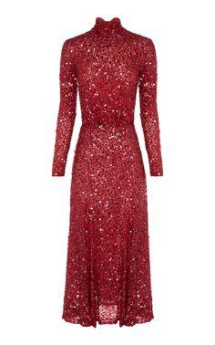 Trixie Turtleneck Dress by RACHEL GILBERT for Preorder on Moda Operandi