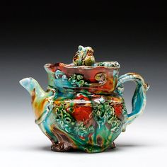 Tales of a Red Clay Rambler: Carter Pottery: Lisa Orr on the Tales of a Red Clay Rambler Podcast Ceramic Teapots, Ceramic Decor, Ceramic Bowls, Ceramic Pottery, Pottery Art, Call Art, Mad Hatter Tea, Clay Design, Ceramic Artists