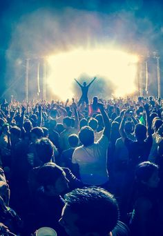 Sometimes all you need is a good concert or music festival. #goodtimes