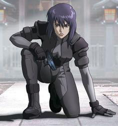 Major Motoko Kusanagi from Ghost in the Shell