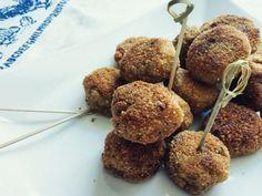 Ricetta Antipasto : Polpette di quinoa e porcini da PentagrammiDiFarina