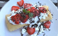 Kefir, Bruschetta, Lowes, Pancakes, Paleo, Food And Drink, Easy Meals, Low Carb, Breakfast