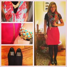 #ootd @lillypulitzer skirt and murfee! - @summerwind41490- #webstagram