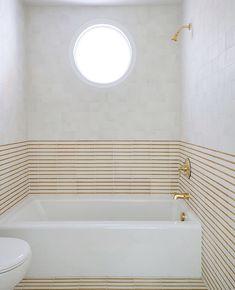 Sarah Sherman Samuel: the making of a kids bath Shower Fixtures, Tub And Shower Faucets, Tub Faucet, Bath Tub, Mug Design, Tile Design, Inspiration Design, Bathroom Inspiration, Bathroom Ideas