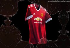 Manchester United 15/16 Adidas Home Kit