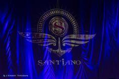 Das Logo von Santiano kurz vor dem Konzert