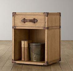 Wilkes Trunk Nightstand | Nightstands & Side Tables | Restoration Hardware Baby & Child