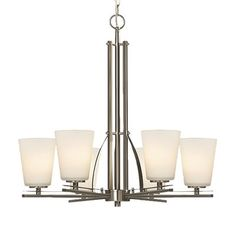 Galaxy Lighting 811965 Radcliff 6-Light Chandelier