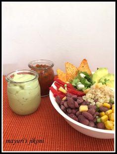 Mayuri's Jikoni: 585. Burrito Bowl Salad