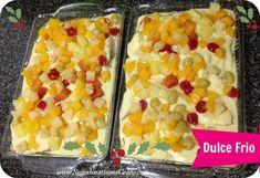 Receta: Postre Dulce Frio - Súper Baratísimo o Gratis Trifle Desserts, Dessert Drinks, No Bake Desserts, Just Desserts, Delicious Desserts, Yummy Food, Sweets Recipes, Mexican Food Recipes, Cooking Recipes