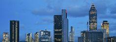 Blick von Bockenheim auf die Skyline Frankfurt