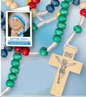 St Teresa of Calcutta Missionary Rosary Beads. Saint Teresa Of Calcutta, Virgin Mary Statue, Catholic Gifts, Rosary Beads, Mother Teresa, All Gifts, Mother Gifts, Saints, Triangle