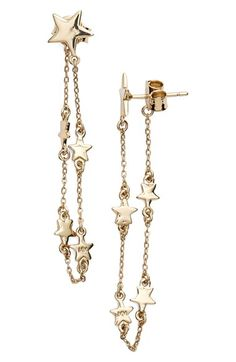 Melinda Maria 'Stair Chain' Drop Chain Earrings available at #Nordstrom