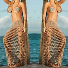 Cute mesh cover-up skirt
