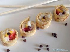 Aprenda a preparar sushi doce para festas infantis  com esta excelente e fácil receita.  Nas festas infantis é importante preparar comida divertida e que agrade às...
