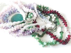 Gemstone, Seed bead, silver, personalized Jewelry by NatalyJewelryDesign Jewelry For Her, Jewelry Gifts, Unique Necklaces, Unique Jewelry, Etsy Coupon, Purple Necklace, Embroidery Jewelry, Selling Jewelry, Personalized Jewelry