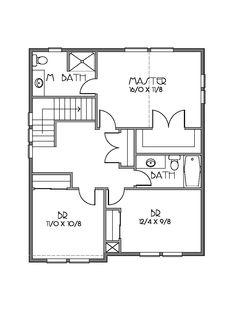 planos de casas de dos pisos pareadas pequeñas - Buscar con Google