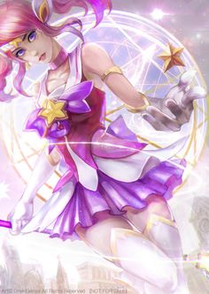 Star Guardian Lux fa
