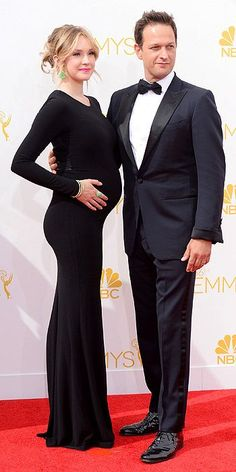 Sophie Flack and Josh Charles - The 2014 Emmy Awards