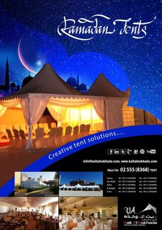 Ramadan Rental Tent Supplier Abu Dhabi