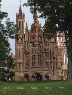 Religious building in Vilnius , Lithuania stock photo 58776886 - iStock - iStock ES