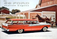 59 Ford Station Wagon