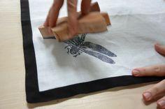 wooden stamp made by Sabina Bugaj in PoWoli Workshop