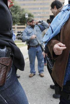 Freie Bürger tragen Waffen