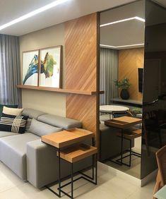 home sala Espelho para sala: ide - home Home Design Decor, Home Interior Design, Interior Decorating, Home Decor, Decorating Ideas, Sala Grande, Living Room Tv, Apartment Design, Living Room Designs